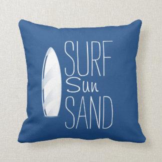 Surf Sun Sand Pillow