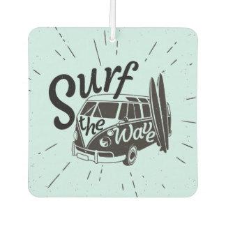Surf The Wave Car Air Freshener