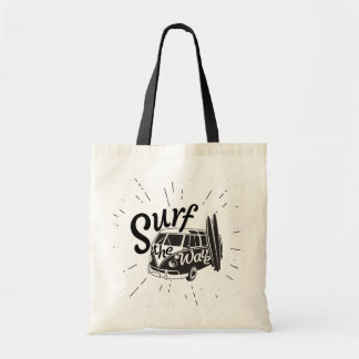 Surf The Wave Tote Bag