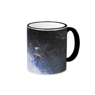 Surf the Web For Halloween Ringer Mug