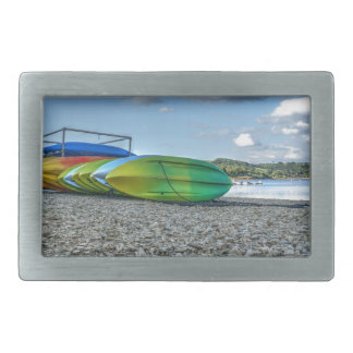Surf Time Rectangular Belt Buckle