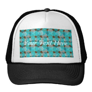 Surf & Turf Pattern Collection Hats