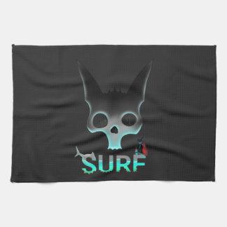 Surf Urban Graffiti Cool Cat Tea Towel