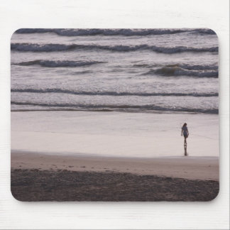 Surf walk mouse pad