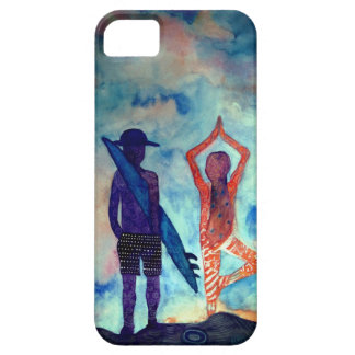 Surf Yoga iPhone SE + iPhone 5/5S, Barely There Case For The iPhone 5