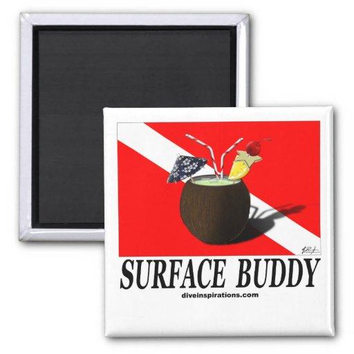 Surface Buddy Refrigerator Magnet