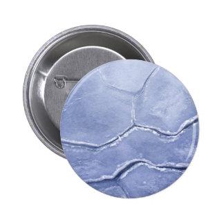 Surface Cracks On The Ice 6 Cm Round Badge