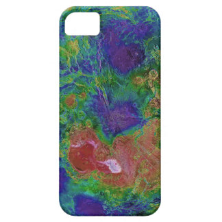 Surface Elevation Map of the Planet Venus iPhone 5 Cases