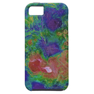 Surface Elevation Map of the Planet Venus Tough iPhone 5 Case