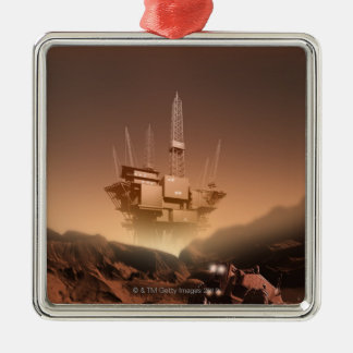 Surface of Mars 2 Christmas Ornament
