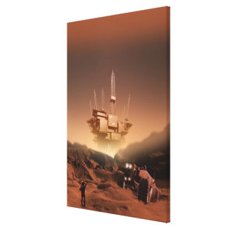 Surface of Mars 2 Stretched Canvas Prints
