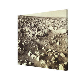 Surface of Mars Gallery Wrap Canvas