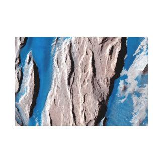 Surface of Mars – Western Medusa Fossae Formation Canvas Print