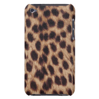 Surface of spotted feline barely there iPod covers