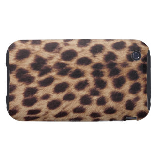 Surface of spotted feline iPhone 3 tough cover