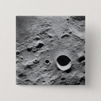 Surface of the Moon 15 Cm Square Badge
