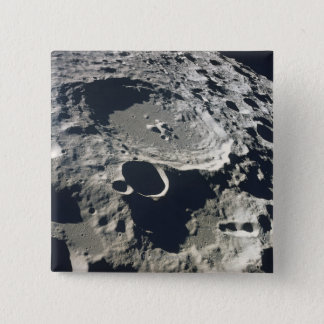 Surface of the Moon 2 15 Cm Square Badge
