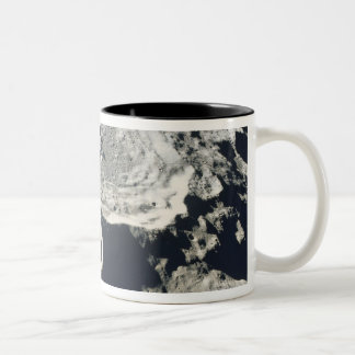 Surface of the Moon 2 Two-Tone Coffee Mug
