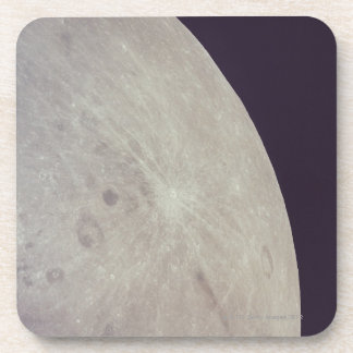 Surface of the Moon 3 Coaster
