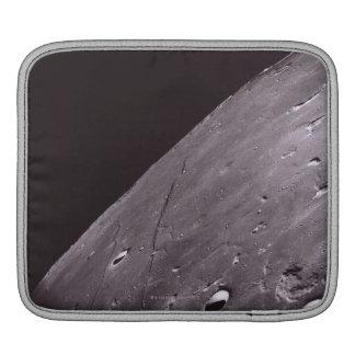 Surface of the Moon 4 iPad Sleeve