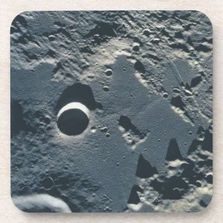 Surface of the Moon 5 Coaster