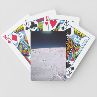Surface of the Moon 6 Bicycle Playing Cards