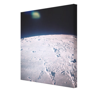 Surface of the Moon 6 Canvas Prints