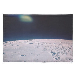 Surface of the Moon 6 Place Mat