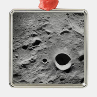 Surface of the Moon Christmas Ornament