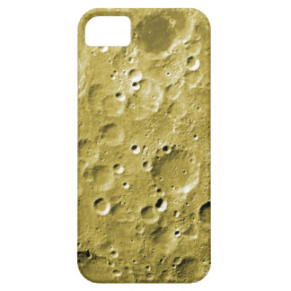 Surface of the moon iPhone 5 cover