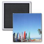 Surfboard Fridge Magnets