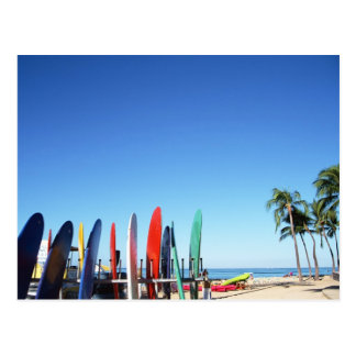 Surfboard Postcard