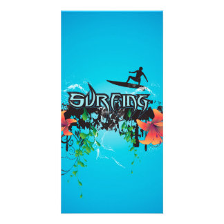 Surfboarder Photo Greeting Card