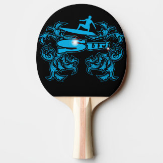 Surfboarder Ping Pong Paddle