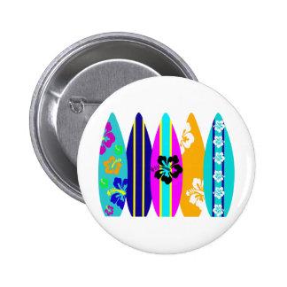 Surfboards 6 Cm Round Badge