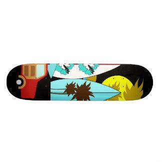 Surfboards Beach Bum Surfing Hippie Vans Skate Board Decks