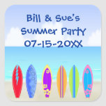 Surfboards Beach Party Favour