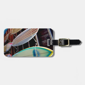 Surfboards Luggage Tag