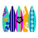 Surfboards Postcard