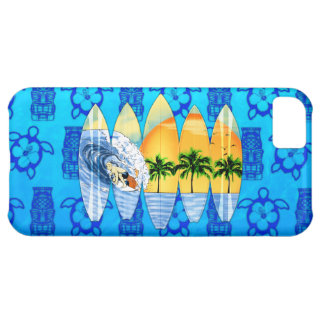 Surfer And Surfboards iPhone 5C Covers
