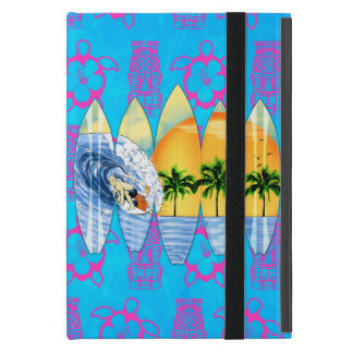 Surfer And Surfboards Case For iPad Mini