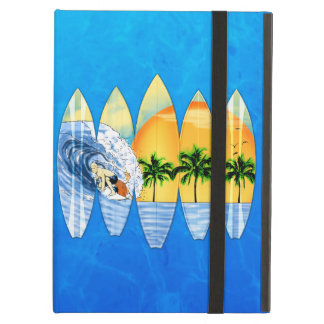 Surfer And Surfboards iPad Air Case