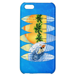 Surfer And Surfboards iPhone 5C Case