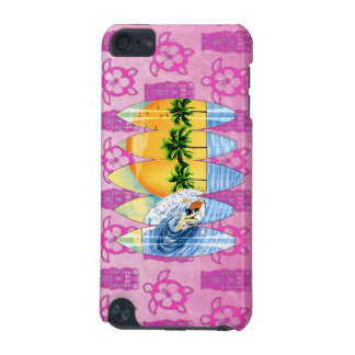 Surfer And Surfboards iPod Touch 5G Cases