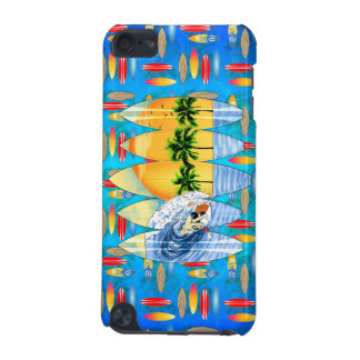 Surfer And Surfboards iPod Touch (5th Generation) Case
