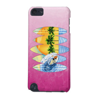Surfer And Surfboards iPod Touch (5th Generation) Cover