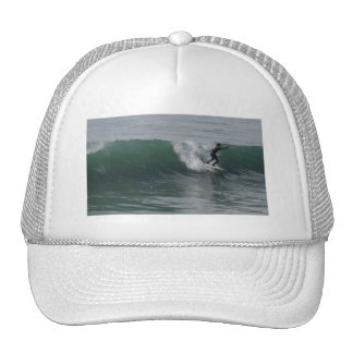 Surfer at Moonstone Beach, Cambria Hats
