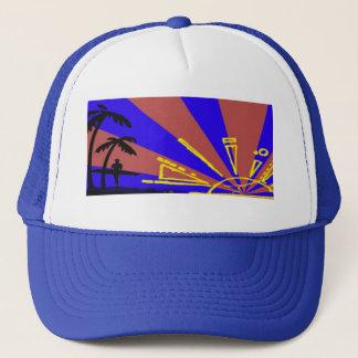 Surfer at Sundown Trucker Hat