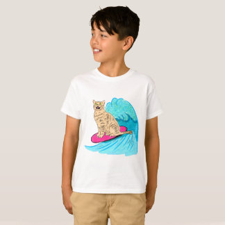 Surfer Cat T-Shirt