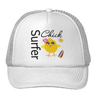 Surfer Chick Trucker Hats